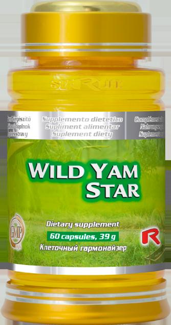 Výživový doplnok WILD YAM pre mladosť a vitalitu 60 tbl